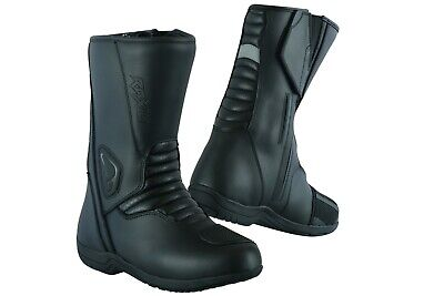 New Motorbike Touring Boots Genuine Top Grain Leather Raxid Scimitar Boots Sale%