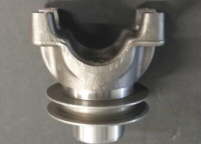"9"" Ford 1350 Spicer  Forged Yoke & Pulley    Mark Williams     Racing  Nascar"