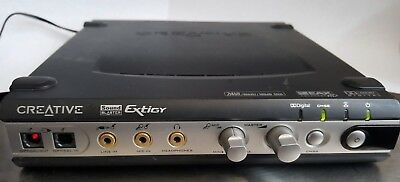 CREATIVE LABS Sound Blaster Extigy SB0130 & AC Power Adapter, Working Great!!!