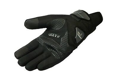 NEW Motorcycle Black Flare Textile Anti Slip Summer Gloves Raxid on OFFER SALE%