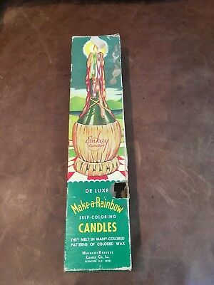 Enkay Deluxe Make a Rainbow Candles