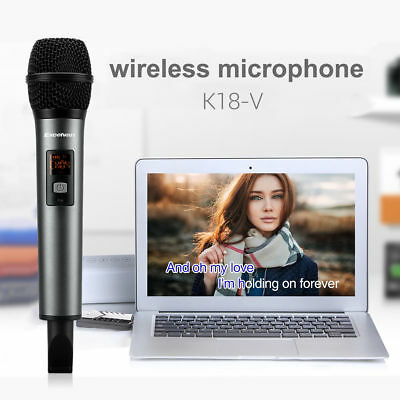 Home KTV Wireless Bluetooth Karaoke Microphone Speaker Handheld Stereo Player US