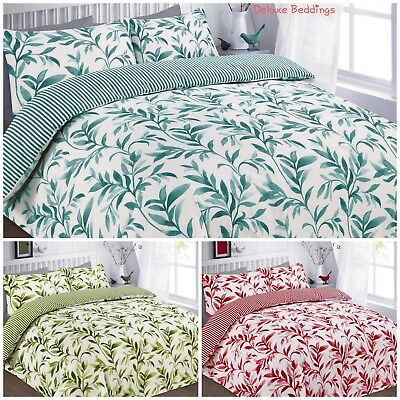 Luxurious ELLIE Duvet Covers Quilt Cover Reversible Bedding Sets All Sizes