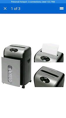 LEDAH-PX880 Microcut Confetti Cross Cut Shredder 8 Sheet Capacity Office, Home