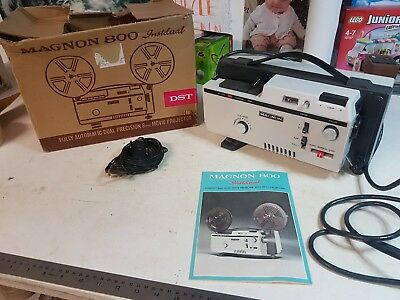 Magnon 800 Industrial 8Mm Film Projector, Working