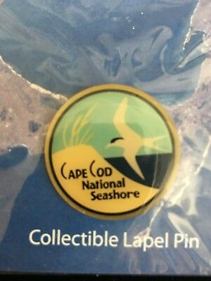 Cape Cod National Seashore Park Massachusetts Collectible Lapel Pin~NEW in pkg