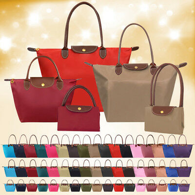 Women Ladies Nylon Waterproof Beach Large Tote Shoulder Handbag Foldable Shopper