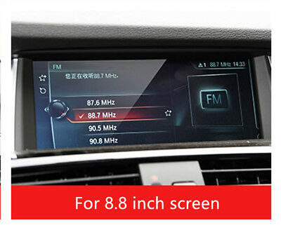 For BMW X3 X4 2014-2017 GPS Navigation Tempered Glass Screen Protective Film 1pc