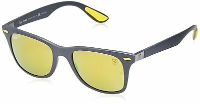 05056bb817 RAY-BAN MEN S NYLON Man Non-Polarized Iridium Rectangular Sunglasses ...