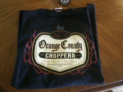 Mike Campo Autographed Orange County Choppers XL NWT T-Shirt