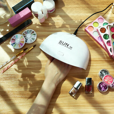 24W USB Mini Nail Lamp Dryer LED Curing UV Lamp Manicure Nail Gel Polish Lamp