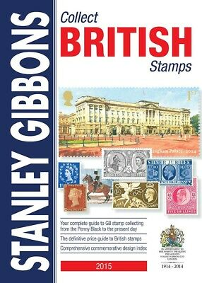 Sg 2015 Collect British Stamps Catalogue