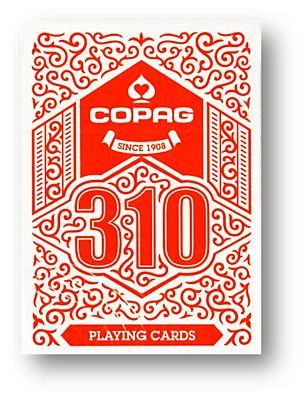 COPAG 310 Playing Cards (Red) Poker Spielkarten