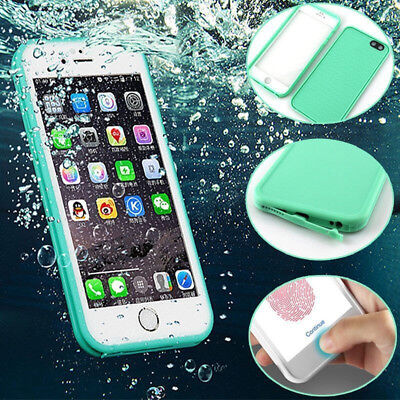 Waterproof Shockproof Hybrid Rubber TPU Case Cover For iPhone 6 6S 7 8 Plus 5 qs