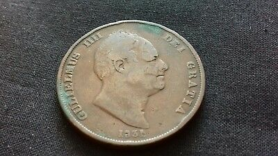 William IV,  Penny 1831, In Good collectable Condition. c13