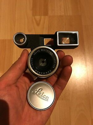 Leica Leitz Summaron 35mm f2.8 (with goggles/finder for Leica M3) IN BOX