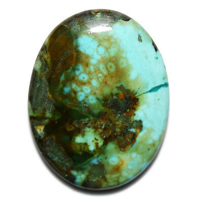 50 Ct Natural Tibet Turquoise Oval Cabochon Untreated Loose Gemstone