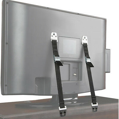 1PC Anti Tip Flat Screen TV Saver Straps Safety Wall/Furniture Restraint Anchor