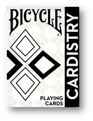 Bicycle Cardistry Black and White Playing Cards Poker Spielkarten