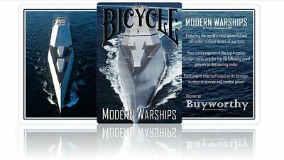 Bicycle Modern Warships Playing Cards Poker Spielkarten
