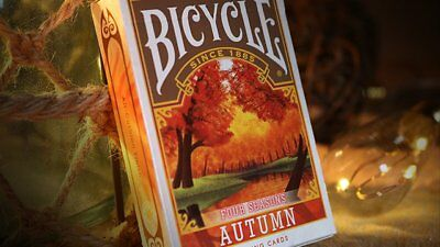 Bicycle Four Seasons Limited Edition (Autumn) Playing Cards Poker Spielkarten