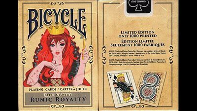 Runic Royalty Bicycle Playing Cards Limited Edition only 1000 Poker