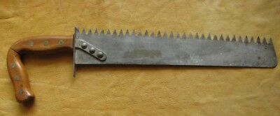 US Military Survival Saw / Machete Combo, Heavy Duty Riveted Blade