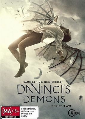 DA VINCI'S DEMONS - Series 2 4 x DVD Set Exc Cond! Complete Second Season Two