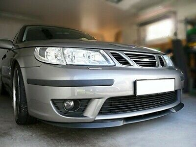 Saab 9-5 95 MK1 Front Bumper Cup Chin Spoiler Lip Splitter Valance Wing Trim