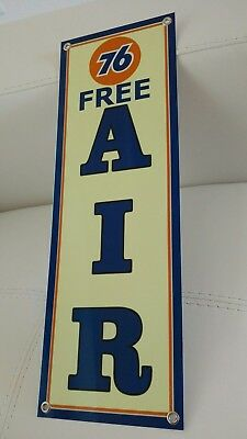 Union 76 Gasoline Oil sign Free Air