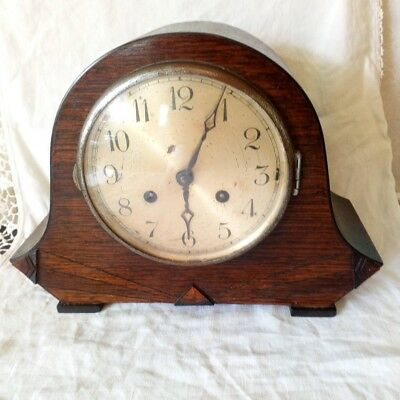Untested Art Deco Mantle Clock
