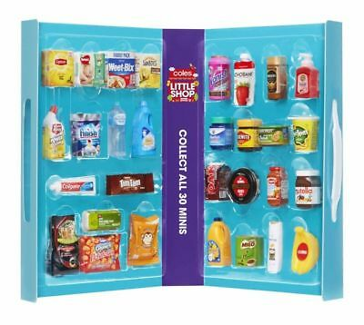 Coles Little Shop Mini Collectables Full Set or Separate Pieces