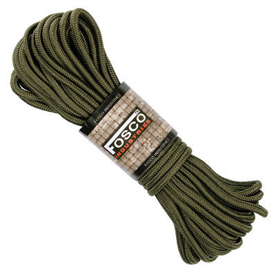 corde multi-usages 15 m x 5 mn, verte ( commando 4x4 intervention militaria