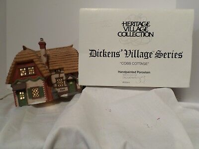 Dept 56 Cobb Cottage  Dickens' Heritage Village Christmas in Box 5824-6 Retired