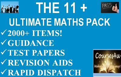 Eleven Plus 11 + Maths 400 Practice Test Papers All Subjects Cem Gl *Download*