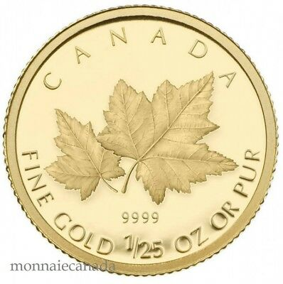 - Red Maple canada 2009 - 50 Cents - 1/25-Oz Gold Coin