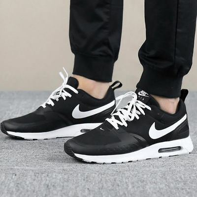 new product c8355 e1135 Nike Air Max Vision 918230-007 Black White Men s Lifestyle Running Shoes NEW !