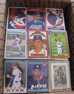 """Huge 2500 Lot of 1980's & 90""""s Baseball Cards-Stars,Rookies, Inserts FREE Ship"""