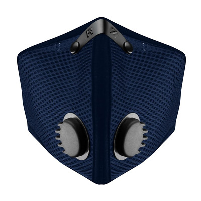 RZ Mask Breathe Safe M2 Navy Blue (size Large) 125-215 lbs