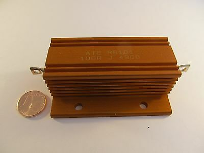 ATE Hochlastwiderstand RB101-100RJ - 100 Watt 100 Ohm - A29/5765 Power Resistor