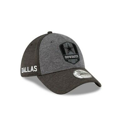 Dallas Cowboys New Era 39THIRTY 2018 NFL Sideline On Field Cap Flex Hat  Stretch 01c9f7185