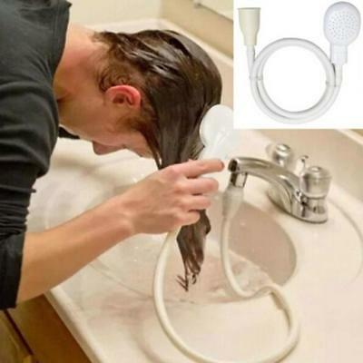 Shower Faucet Head Bathroom Kitchen Water Spray Drains Stream Washing Nozzle