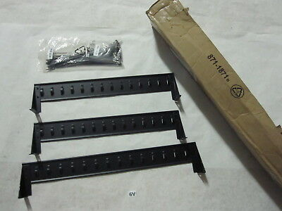 APC 871-1871B AP7832 PDU Cord Retention (3) Tray Brackes