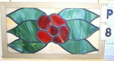 Newly Made In England...leaded Stained Glass Window..quality Workmanship Have 7