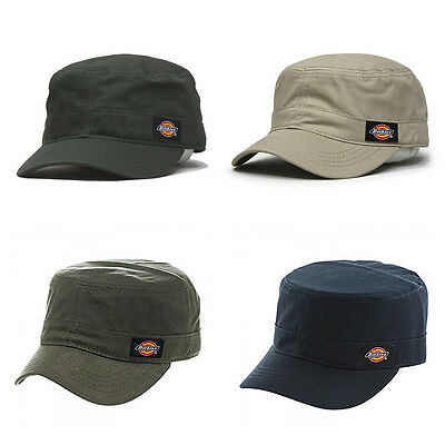 Dickies Core Cotton Canvas Fitted Cadet Military Radar Cap