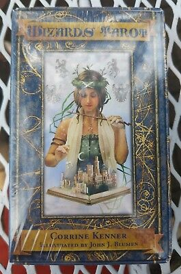 NEW SEALED - Wizards Tarot by Corrine Kenner. Rare & OOP.