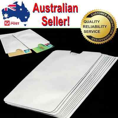RFID Blocking Sleeve Secure Credit Debit Card ID Protector Anti Scan