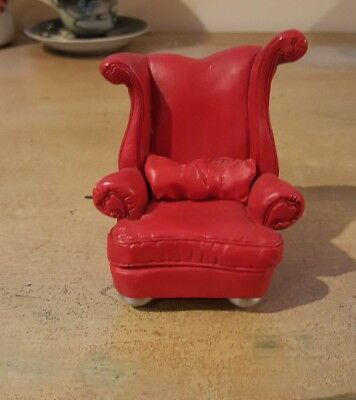 Take A Seat by Raine - Red Heart c.1999, for standalone display or doll's house