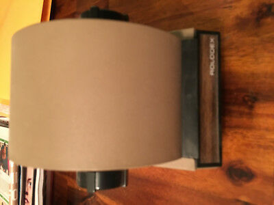 Rolodex Model 1753 Tan Metal Rotary File Index Blank Cards Vintage Excellent