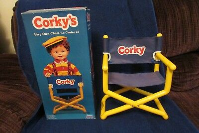 Vintage Playmates Corky Doll Chair with Original Box